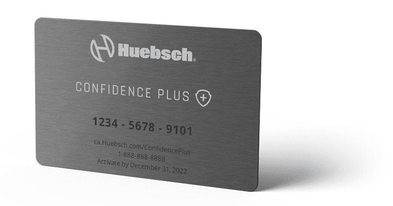 Confidence Plus Card